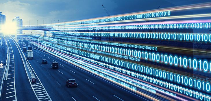 Concept de transformation numérique. Code binaire.