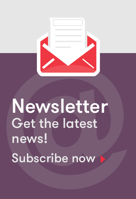 Illustration : Newsletter -  Get the latest news! Subscribe now