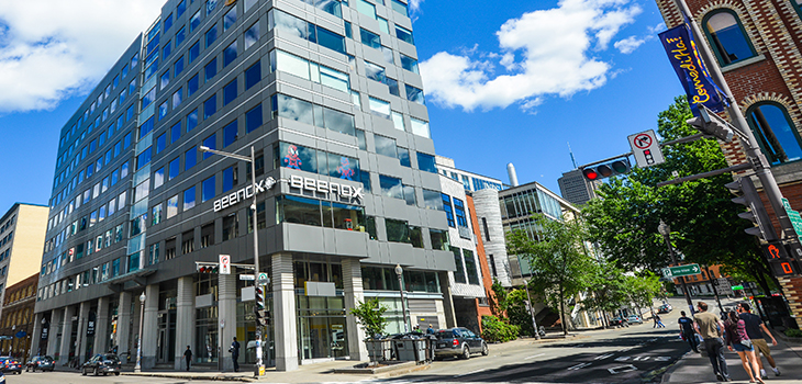 Photo of the Beenox Office in Quebec City