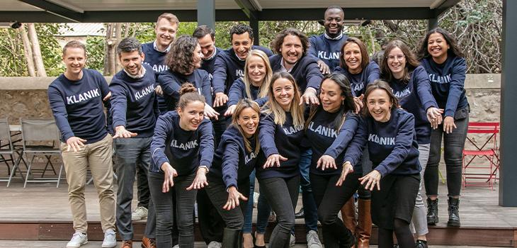 Photo of Klanik's team