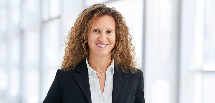 Photo of Marie-Andrée Bernard, Business Development Director at Investissement Québec's Munich office