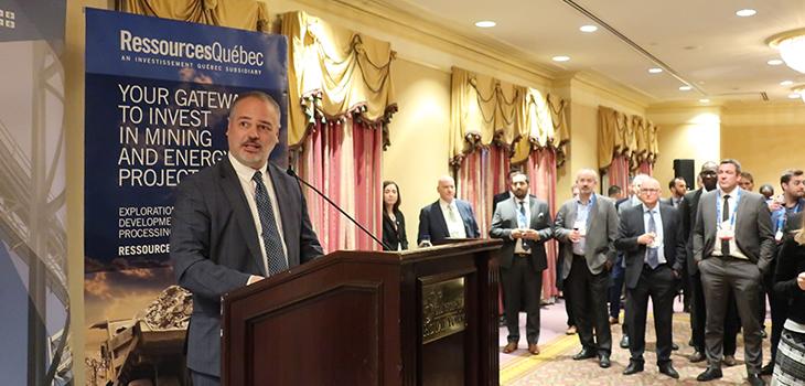 La soirée réseautage : occasions d'investissements au Québec au Royal York