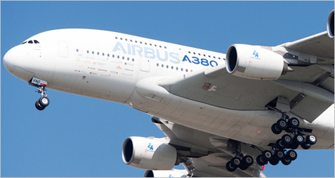 Photo of an Airbus A380