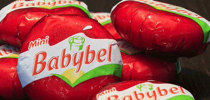 Photo of Mini Babybel cheeses