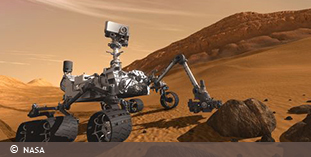 Photo of NASA's Curiosity rover