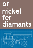 Image indiquant or, nickel, fer et diamants.