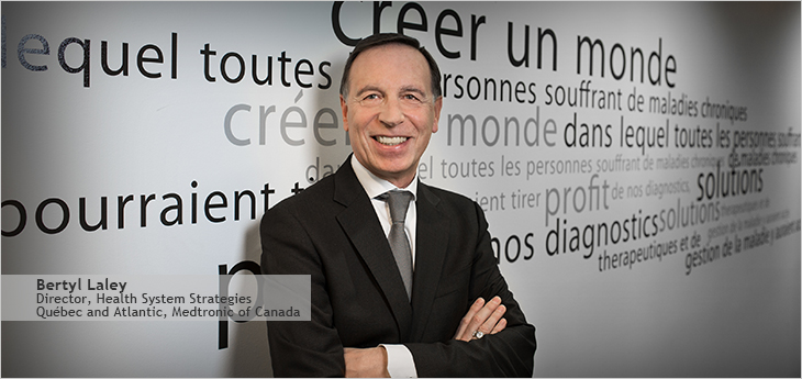 Photo of Bertil Laley, Director, Health Systems Strategies Québec and Atlantic, Medtronic of Canada