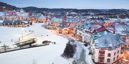 Photo :Village Mont-Tremblant, Laurentides