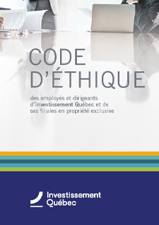 Illustration indicating Code d'éthique