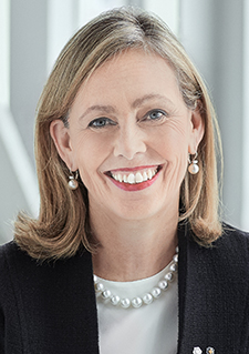 MONIQUE F. LEROUX, Chair of the Board of Directors of Investissement Québec Corporate Director