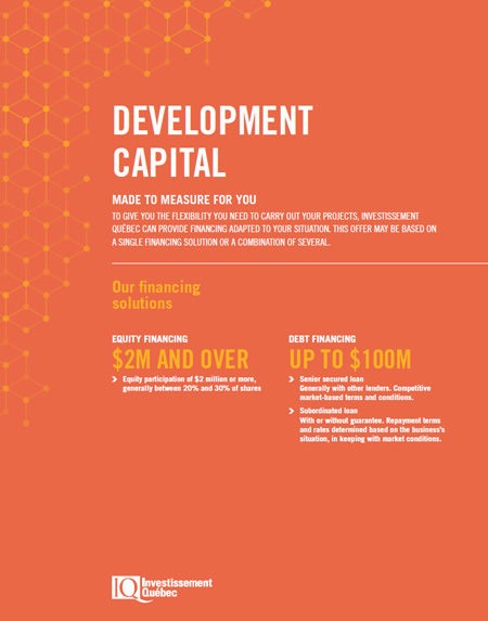 Cover of the document Development Capital