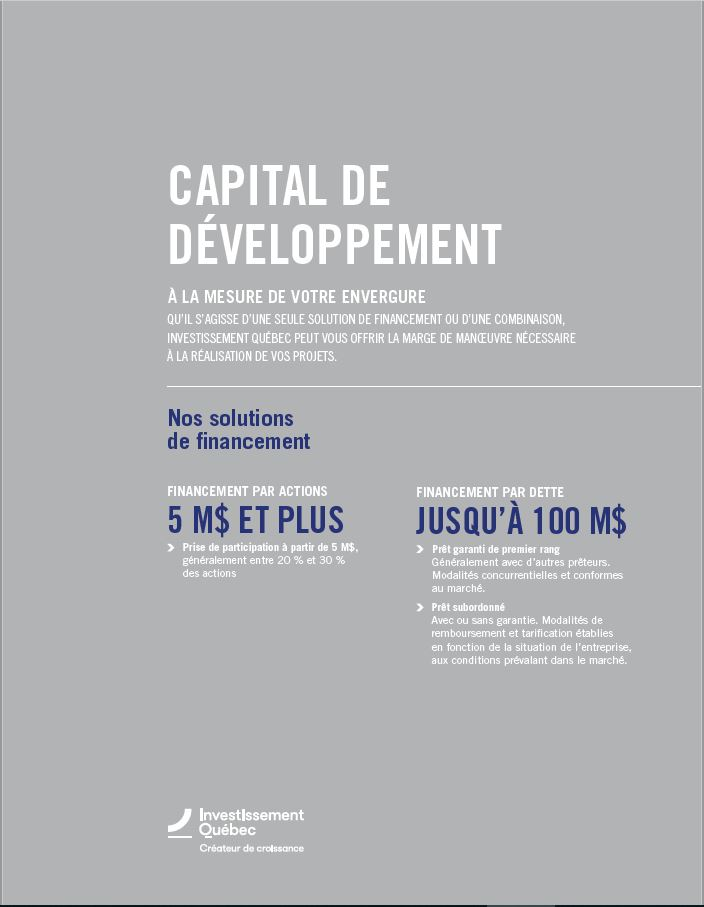 Couverture du document Capital de développement
