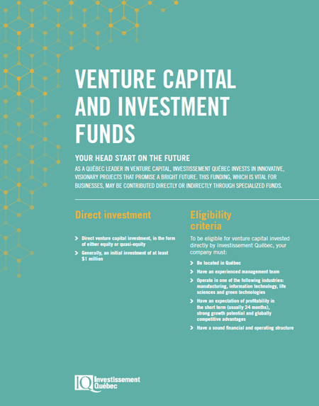 Cover of the document Venture Capital and Investment Funds