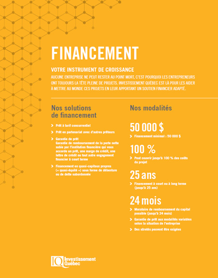 Couverture du document Financement