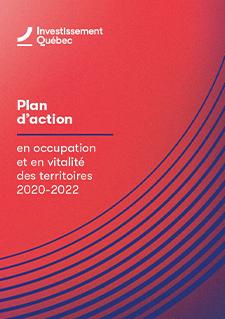 Couverture du document Plan d'action en occupation et en vitalité des territoires 2020-2022