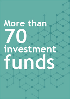 More than 70 investment funds