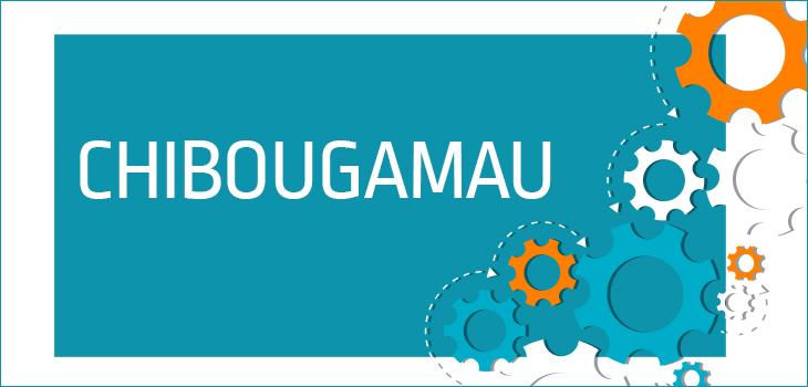 Image représentant des écrous et texte indiquant « Chibougamau »