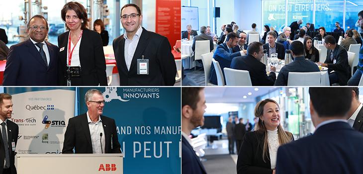 Tournée de l'Initiative manufacturière Investissement Québec à Montréal