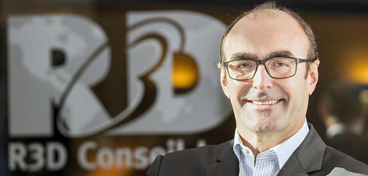 Photo de M. Claude Levasseur, président et chef de la direction de R3D Conseil