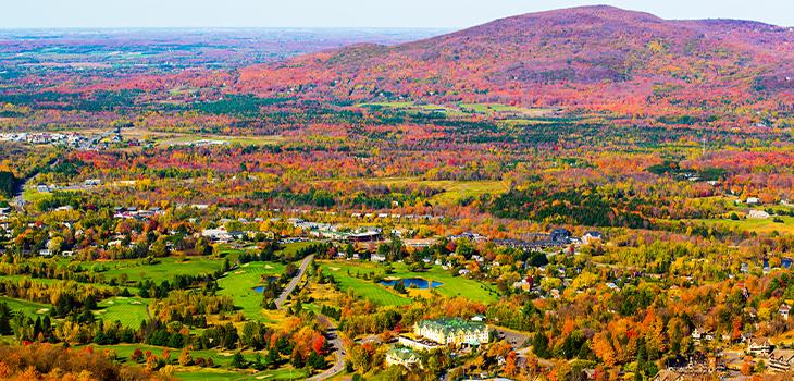 Photo d'un paysage de la Montérégie
