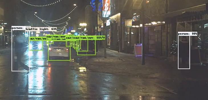 Solutions de vision par ordinateur et d'optimisation d'images d'Algolux