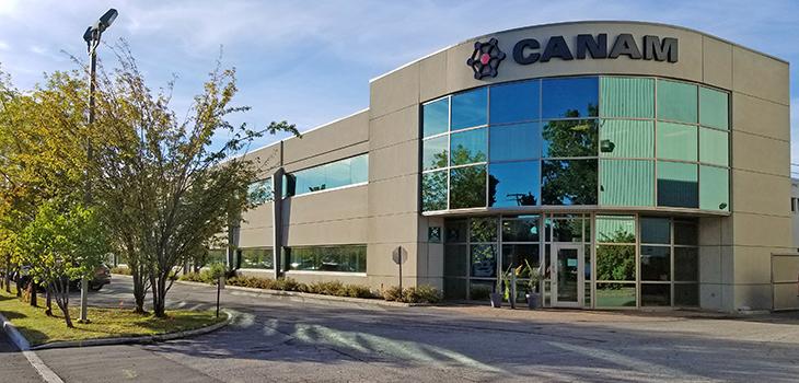 Photo de l'édifice de l'entreprise à Québec
