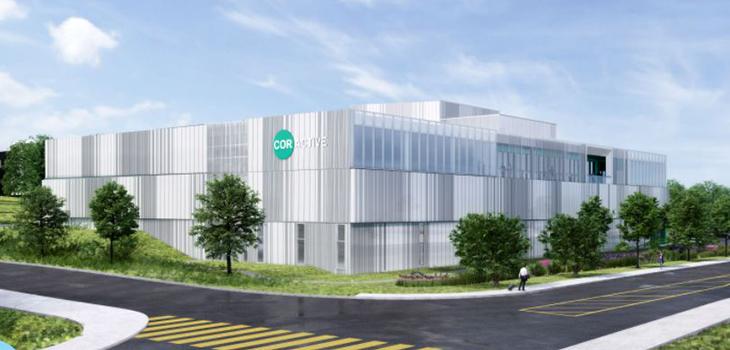 Photo de la nouvelle usine de Coractive