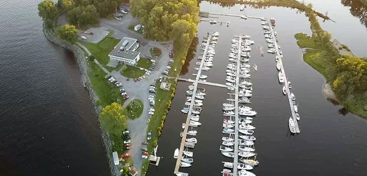 Photo de la Marina de Trois-Rivières