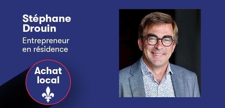 Photo de Stéphane Drouin, entrepreneur en résidence