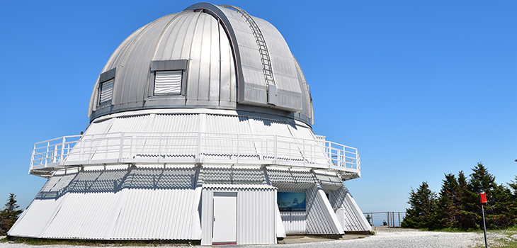 Photo de l'Observatoire du Mont-Mégantic