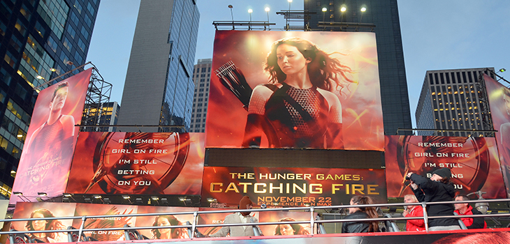 Poster of the movie Hunger Games: Catching Fire