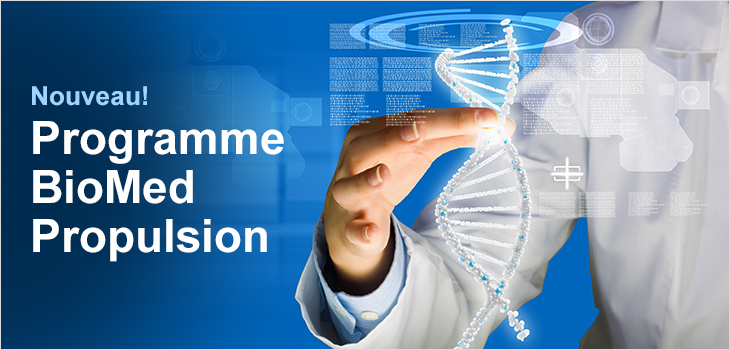 Nouveau! Programme Biomed Propulsion