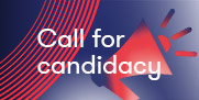 Call for candidacy banner