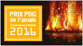 Illustration indiquant : Prix du PDG de l'année Investissement Québec 2016