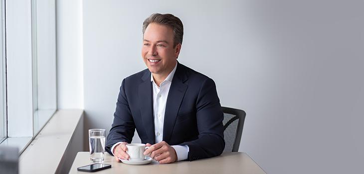 Photo d'Alexandre Sieber, premier vice-président exécutif, Financement corporatif
