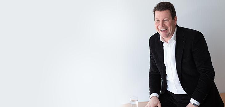 Photo d'Hubert Bolduc, président d'Investissement Québec International