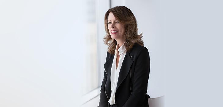 Photo de Sylvie Pinsonnault, ppremière vice-présidente, Stratégies et solutions d'affaires
