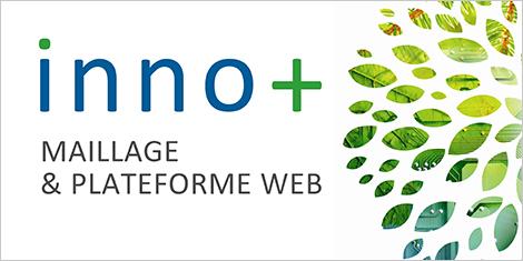 Logo indiquant Inno + carbone / Des solutions technologiques à vos défis environnementaux