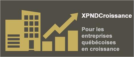 Illustration indiquant: XPNDCroissance: Pour les entreprises québécoises en croissance