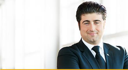 Foto di Luigi Ambrosio, Senior Project Manager, Investimenti diretto all'estero, Montréal, Canada